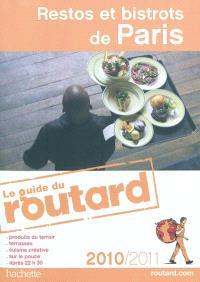 Restos et bistrots de Paris : 2010-2011