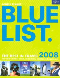 The Lonely Planet bluelist 2008