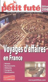 Voyages d'affaires en France