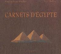 Carnets d'Égypte