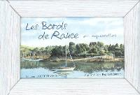 Les bords de Rance, en aquarelles