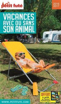 Vacances avec ou sans son animal