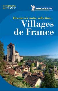 Découvrez notre sélection, villages de France
