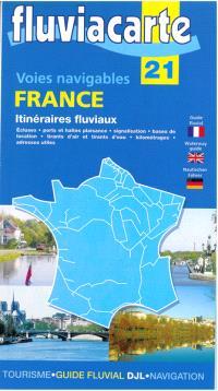 France : itinéraires fluviaux : voies navigables
