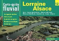 Lorraine-Alsace : Sarre, canaux des houillières, Marne au Rhin (est), Rhône au Rhin (nord), canal de l'Est, Meuse, Moselle