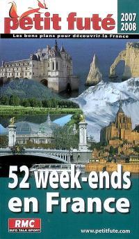 52 week-ends en France : 2007-2008