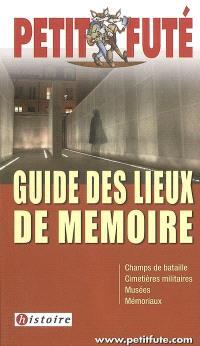 Guide des lieux de mémoire