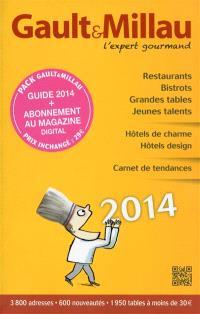 Gault & Millau 2014 : l'expert gourmand