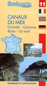 Les voies navigables du Midi : guide de navigation fluviale