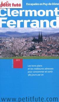 Clermont-Ferrand : escapades en Puy-de-Dôme : 2011
