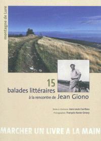 15 balades littéraires à la rencontre de Jean Giono. Volume 2, Montagne de Lure