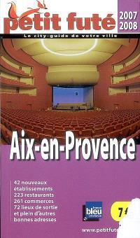 Aix-en-Provence : 2007-2008