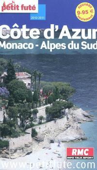 Côte d'Azur, Monaco, Alpes du Sud : 2010-2011