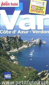 Var : Côte d'Azur-Verdon : 2012