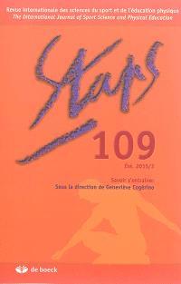 Staps. n° 109, Savoir s'entraîner