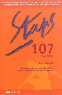Staps. n° 107, Nouvelles pratiques, nouvelles valeurs