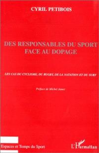 Des responsables du sport face au dopage : le cas du cyclisme, du rugby, de la natation et du surf
