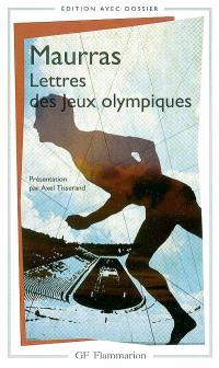 Lettres des jeux Olympiques : la ville moderne