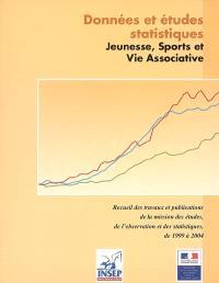 Données et études statistiques : recueil des travaux et publications de la Mission Statistique de 1999 à 2004