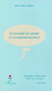 Economie du sport et entrepreneuriat
