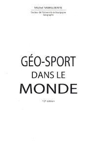 Géo-sport dans le monde
