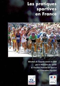 Les pratiques sportives en France : enquête 2000