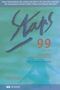 Staps. n° 99, Le sport de l'incertitude à l'incertain