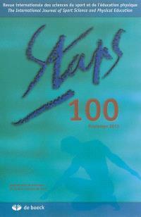 Staps. n° 100, Printemps 2013