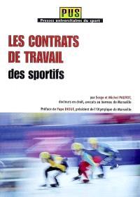 Les contrats de travail des sportifs