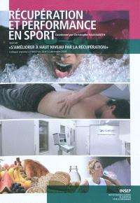 Récupération et performance en sport