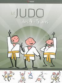Le judo des 4-5 ans