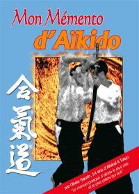Mon mémento d'aïkido