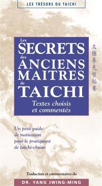 Les secrets des anciens maîtres de taichi