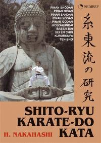 Shito-Ryu, karaté-do kata : pinan shôdan, pinan nidan, pinan sandan, pinan yodan, pinan godan, pinan kumite, koso-kundai, bassai-dai, sei en chin, kururunfa, ten sho