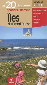 Iles du Grand Ouest : Charente-Maritime, Côte d'Armor, Finistère, Morbihan, Vendée