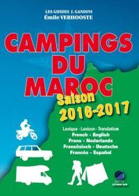 Campings du Maroc : guide critique : saison 2016-2017