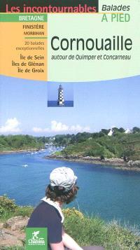 Cornouailles : autour de Quimper et Concarneau : 20 balades exceptionnelles, Île de Sein, Îles de Glénan, ïle de Groix