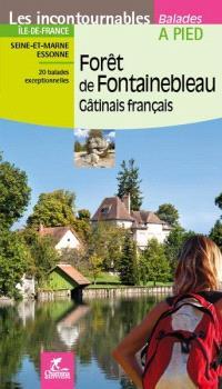 Forêt de Fontainebleau, Gâtinais français : Ile-de-France, Seine-et-Marne, Essonne : 20 balades exceptionnelles