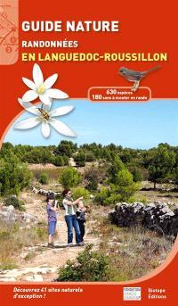 Guide nature : randonnées en Languedoc-Roussillon