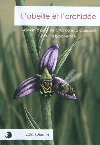 L'abeille et l'orchidée : 1.450 km à pied de Chamonix à Ouessant pour la biodiversité