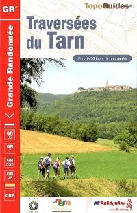 Traversées du Tarn : sentiers PR de liaison, voies vertes