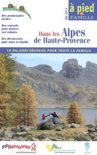 18 balades dans les Alpes de Haute-Provence