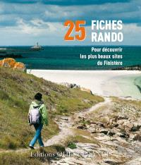 Boîte rando Finistère : 25 fiches rando pour découvrir les plus beaux sites du Finistère