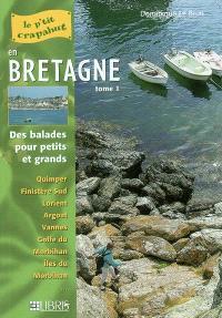 Bretagne. Volume 1, Finistère Sud et Morbihan : balades pour petits et grands
