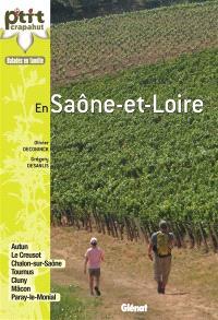 En Saône-et-Loire : 44 itinéraires