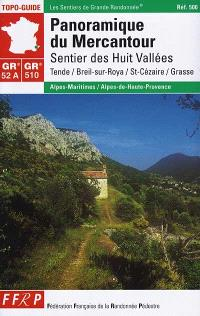 Panoramique du Mercantour, GR 52 A-510 : sentier des Huit vallées