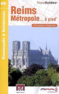 Reims métropole... à pied : 18 promenades & randonnées