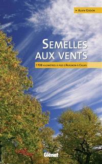 Semelles aux vents : 1.708 kilomètres à pied d'Avignon à Calais