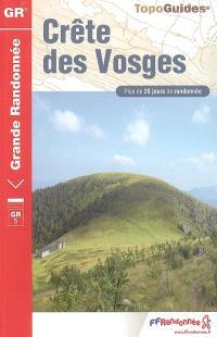 Crête des Vosges : plus de 20 jours de randonnée : GR 53, Wissembourg-Schirmeck (167 km), GR5, le Donon-Fesches-le-Châtel (260 km)