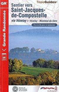 Sentier vers Saint-Jacques-de-Compostelle, Via Vézelay : Vézelay-Montréal-du-Gers, GR 654 : plus de 35 jours de randonnée